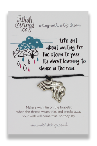 Dance In The Rain - Wishstrings Wish Bracelet - Wish Bracelets - Spiffy