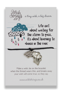 Dance In The Rain - Wishstrings Wish Bracelet - Spiffy