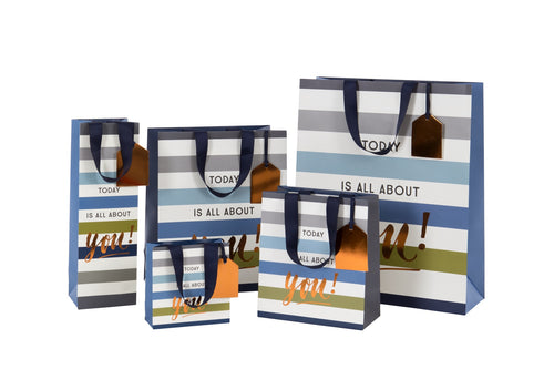 Today is all about you Homme Collection - Medium - Gift Bags - Spiffy
