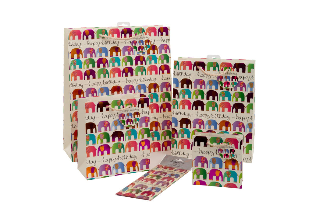Elephants Collection - Small - Gift Bags - Spiffy