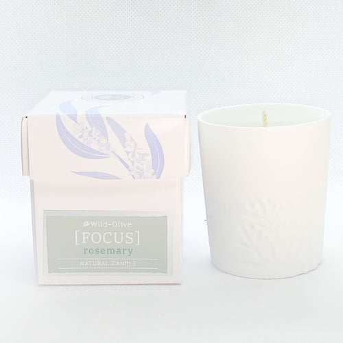 Focus - Aromatherapy Candle by Wild Olive - Aromatherapy Candles - Spiffy
