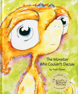 Fuddle - The Monster Who Could Not Decide - WorryWoo Book - Books for Children age 7-11 - Spiffy