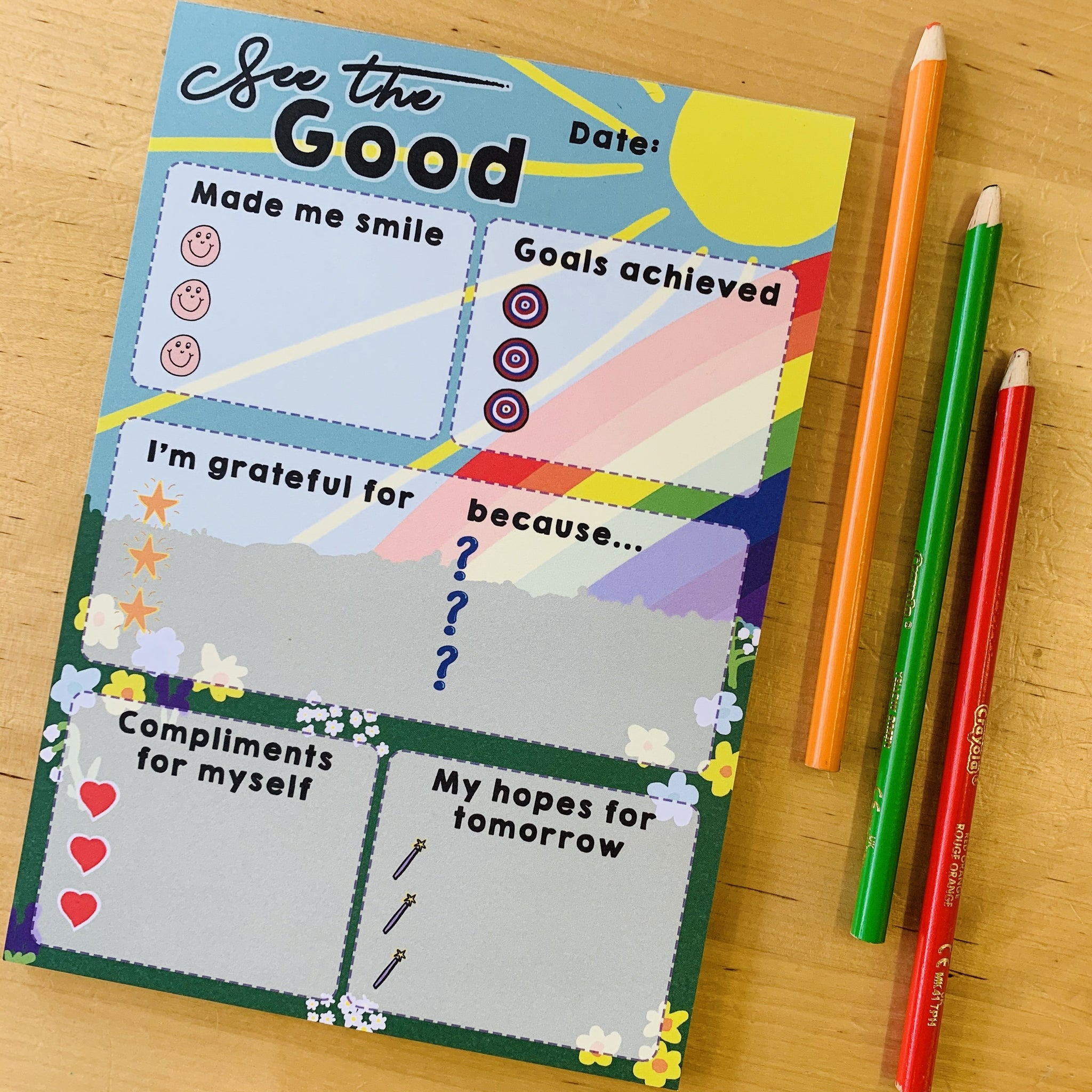 See the Good A5 Notepad