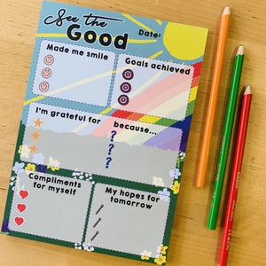 See the Good A5 Notepad - Spiffy
