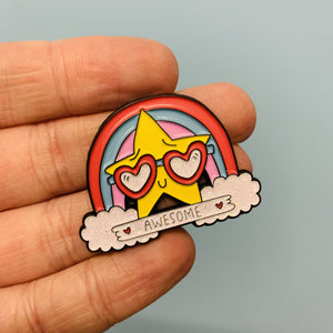 Awesome Enamel Pin - Spiffy Exclusive! - Enamel Pins - Spiffy