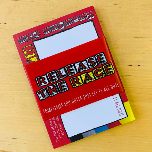 Release the Rage Notepad & Poster - Notepads - Spiffy