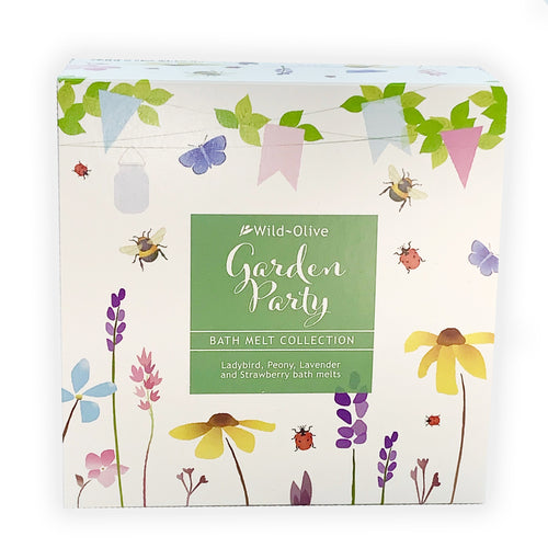 Garden Party Luxury Bath Melt Collection by Wild Olive - Bath Melts - Spiffy