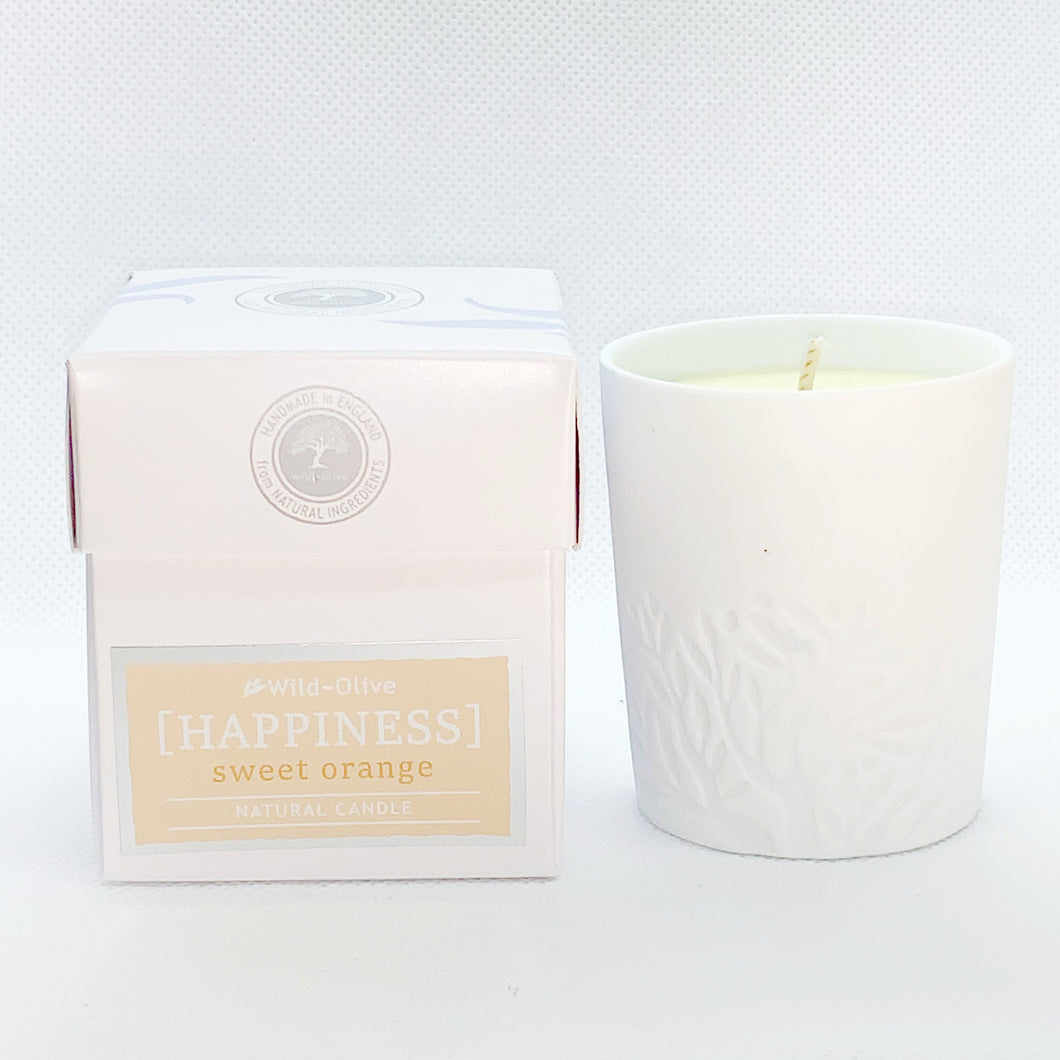 Happiness - Aromatherapy Candle by Wild Olive - Aromatherapy Candles - Spiffy