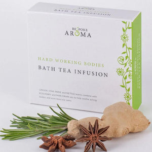 Bath Tea Infusion - Hard Working Bodies - Bath Tea Bags - Spiffy