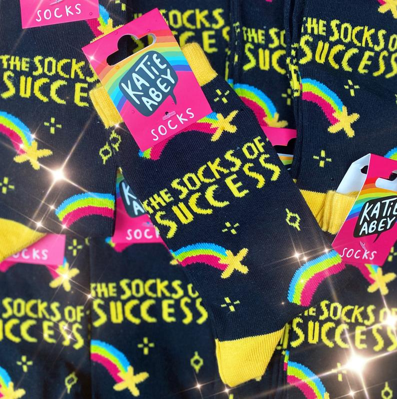 The Socks of Success by Katie Abey - Spiffy