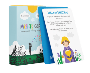 Mighty Cards - Empowering Kids to Manage Tricky Feelings - Spiffy