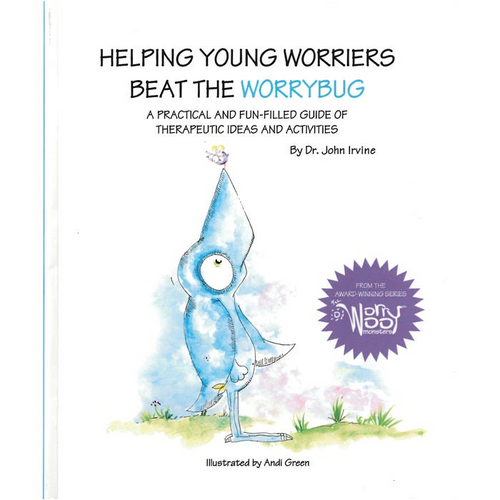 Helping Young Worriers Beat the Worrybug - Companion Book - Books for Children age 7-11 - Spiffy