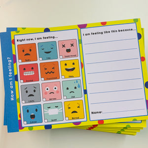 How Am I Feeling? A5 Notepad - Spiffy