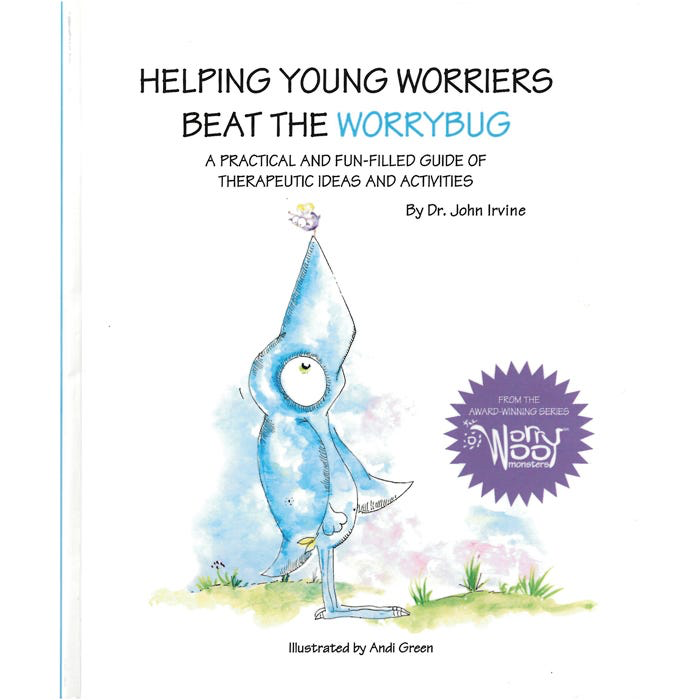 Helping Young Worriers Beat the Worrybug - Companion Book