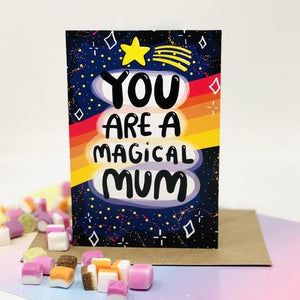 Magical Mum Greetings Card by Katie Abey - Cards - Mothers Day - Spiffy