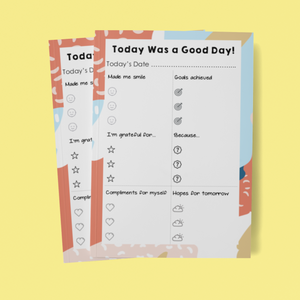 Today Was A Good Day Planner *DIGITAL DOWNLOAD*
