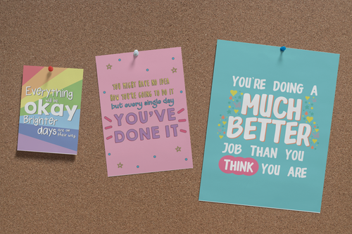 Set of Six Uplifting Prints *DIGITAL DOWNLOAD*