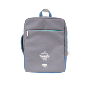 Laptop Backpack - Downloading Wonderful Things - Backpacks and Bags - Spiffy