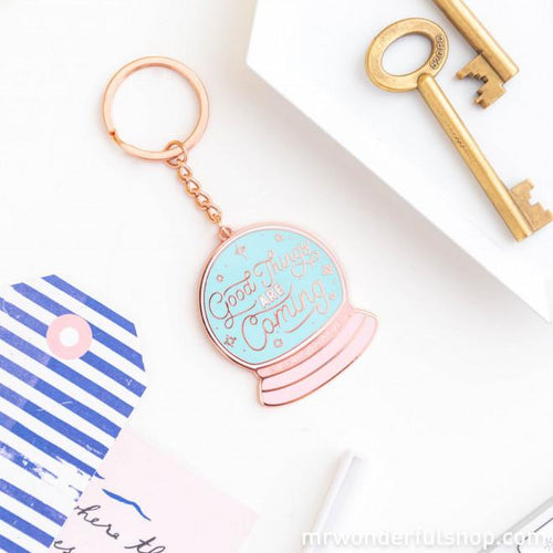 Good Things are Coming Keyring - Keyrings - Spiffy