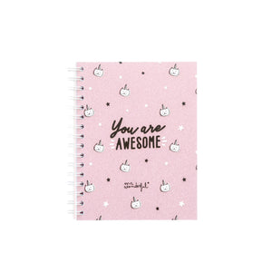 A5 Notebook - You Are Awesome - Notebooks - Spiffy