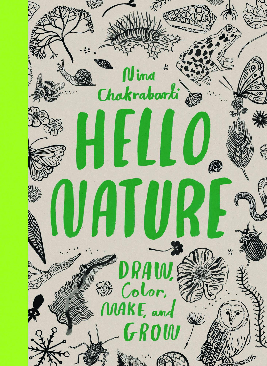 Hello Nature: Draw, Collect, Make and Grow - Colouring Book - Colouring Books - Spiffy