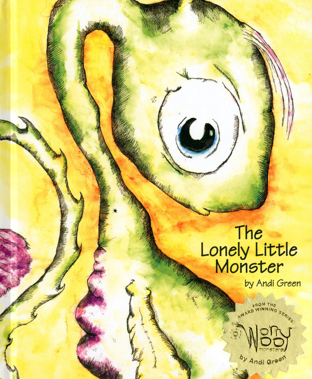 Nola - The Lonely Little Monster - WorryWoo Book