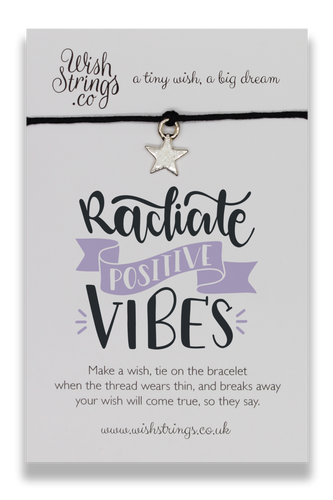Positive Vibes - Wishstrings Wish Bracelet - Wish Bracelets - Spiffy