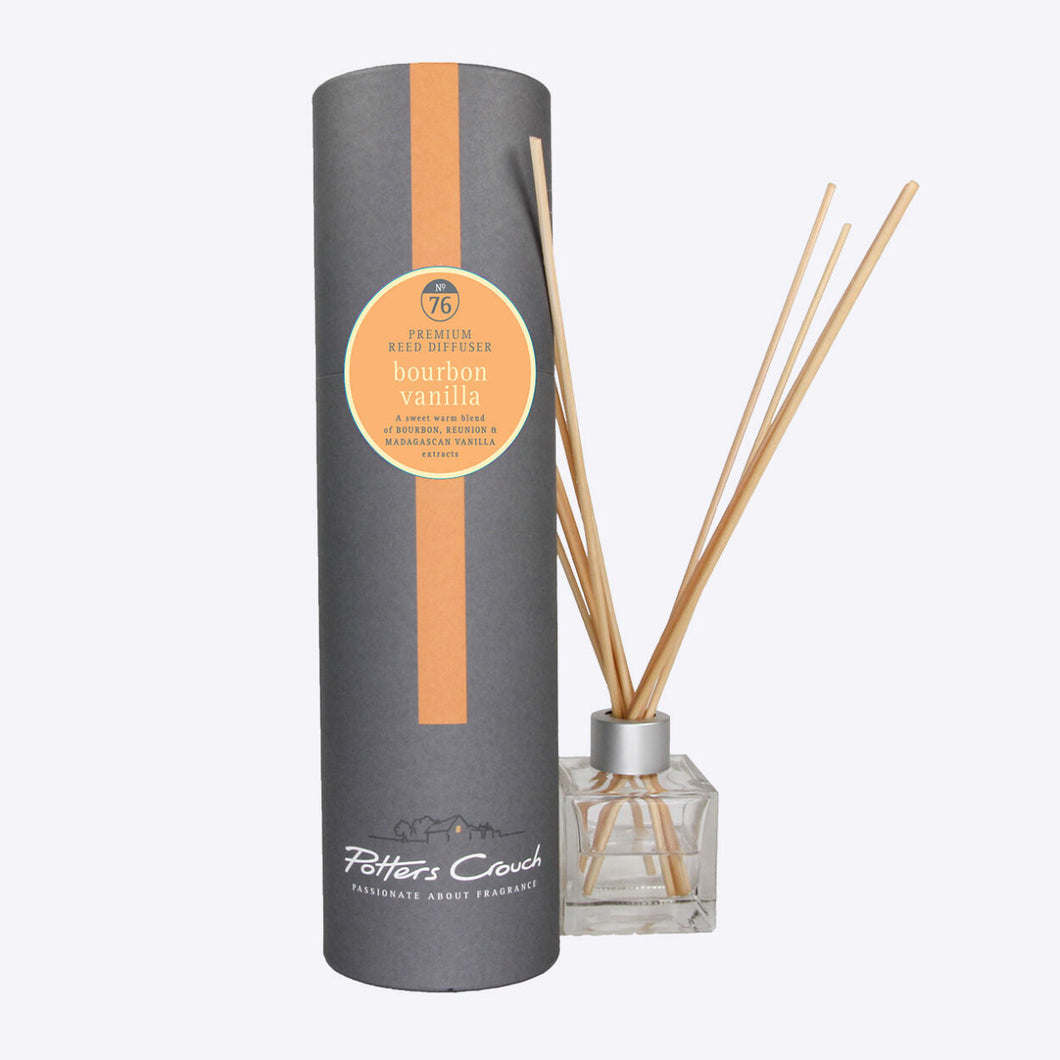 Potters Crouch Bourbon Vanilla Luxury Reed Diffuser