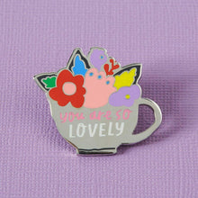 You Are So Lovely Enamel Pin - Enamel Pins - Spiffy
