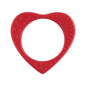 Chewable Heart Bangle - Red - Spiffy