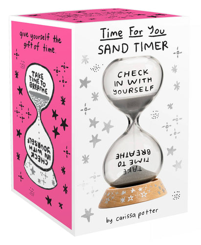 Time for You Sand Timer - Mindful Activity Books - Spiffy