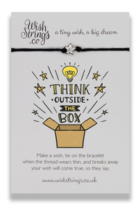 Think Outside Box - Wishstrings Wish Bracelet - Wish Bracelets - Spiffy