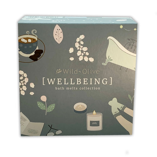 Wellbeing Luxury Bath Melt Collection by Wild Olive - Bath Melts - Spiffy