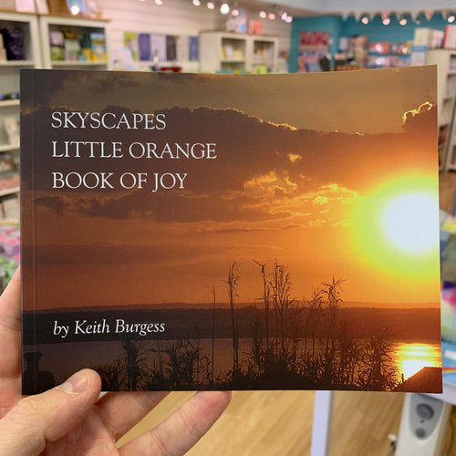 Skyscapes: Little Orange Book of Joy (Picture book by Keith Burgess) - Books - Spiffy