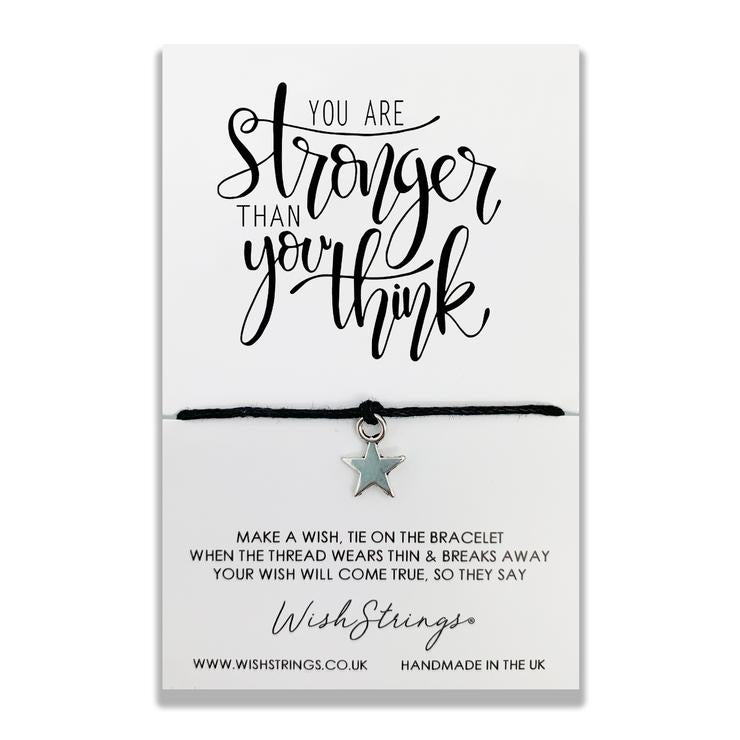 You Are Stronger - Wishstrings Wish Bracelet