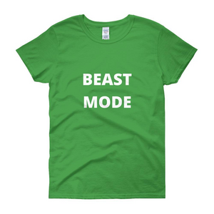 BEAST MODE Women's Short Sleeve T-shirt - LoveTheVictory
