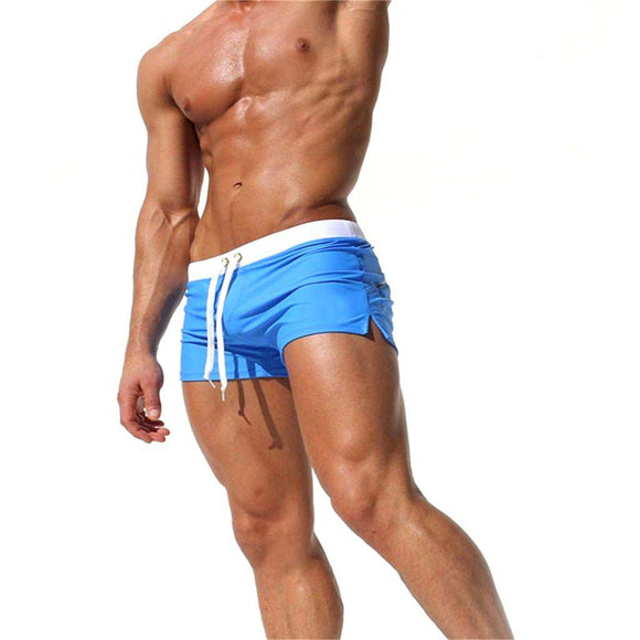 New Men's Swim Boxer Shorts - LoveTheVictory