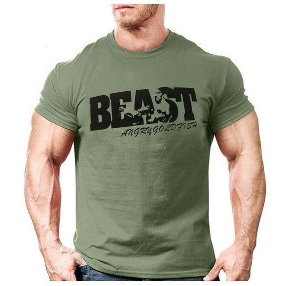 BEAST MODE Men's Short Sleeve T-shirt - LoveTheVictory