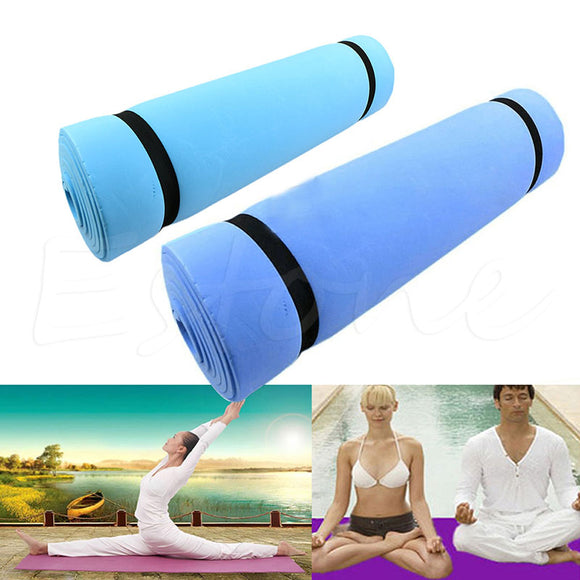 Eco-friendly Yoga Mattress - Blue - LoveTheVictory