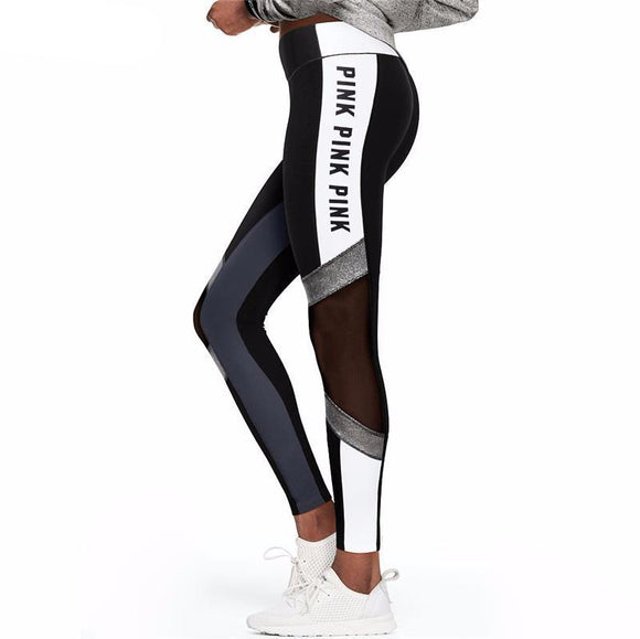 High Waist Workout Leggings - LoveTheVictory