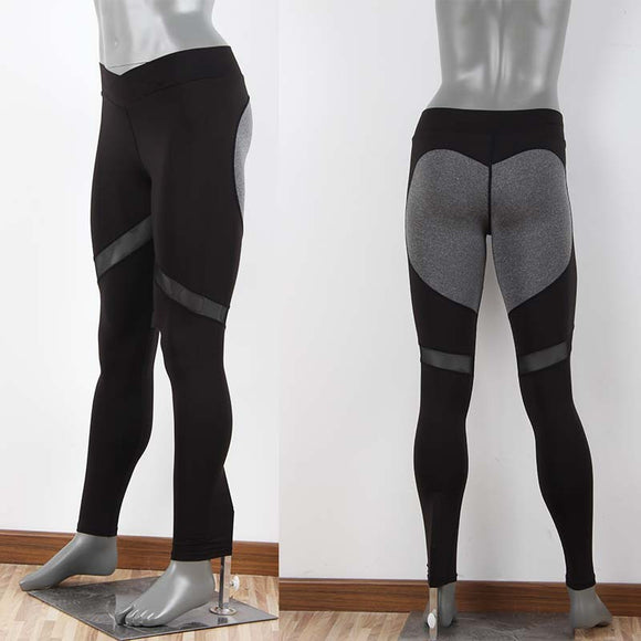 Mesh Patchwork Fitness Leggings - LoveTheVictory
