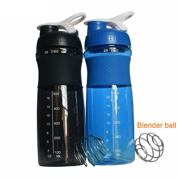 760ML Sports Protein Shaker Blender Water Bottle - LoveTheVictory