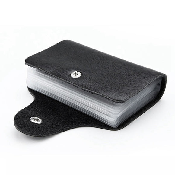 Leather Function Business Card Holder - LoveTheVictory