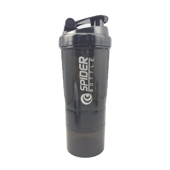 Nutrition Protein Shaker Fitness Water Bottle With Three-layer - LoveTheVictory