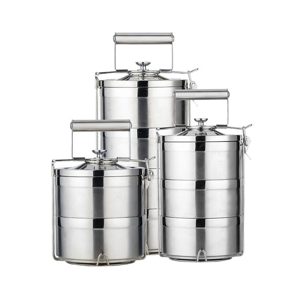 Stainless Steel Portable Lunchbox - LoveTheVictory
