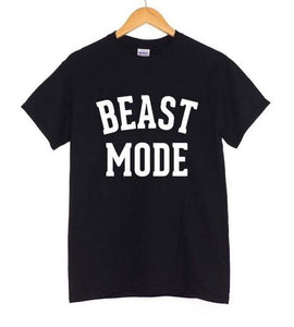 Women's BEAST MODE GYM T-shirt - LoveTheVictory