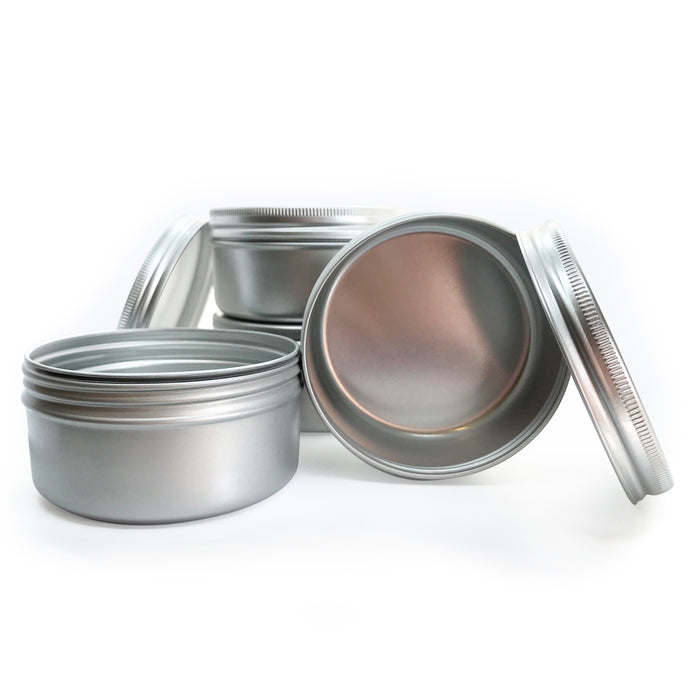 100ml Aluminium Screw Lid Tin