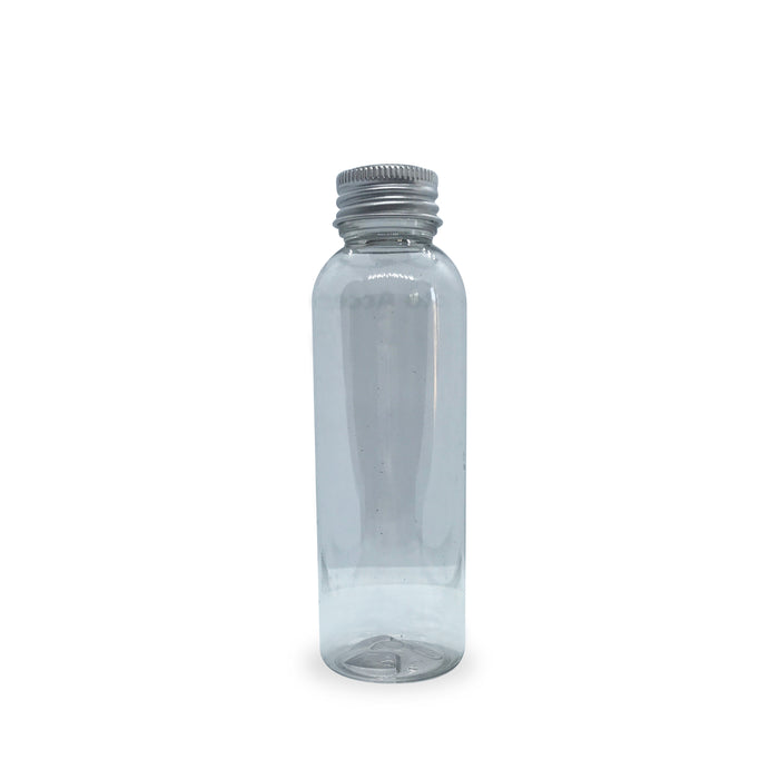100ml Tall PET Plastic Boston Bottle