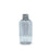 100ml Wide PET Plastic Boston Bottle