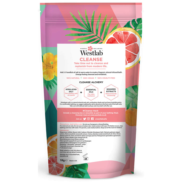 Cleanse Bathing Salts